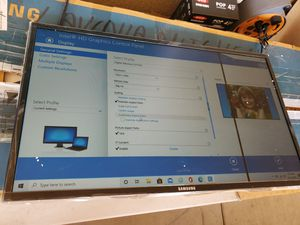 Defective Samsung 27 inch flat computer monitor for Sale in Chino, CA