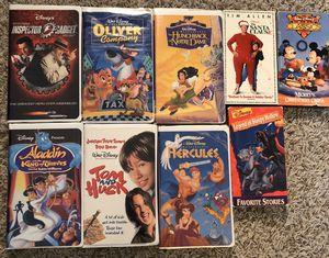 Disney vhs tapes for Sale in Fort Belvoir, VA