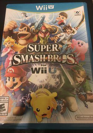 Nintendo Wii U super Smash Bros for Sale in Mesa, AZ