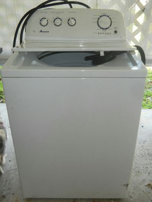 Amana He washer/ Free dryer with purchse for Sale in Dundee, FL
