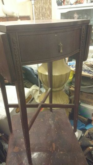 Antique mini table with extension sides for Sale in Baltimore, MD
