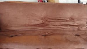 Brown futon for Sale in Puyallup, WA
