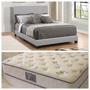 Queen bed and mattress set. for Sale in Prattville, AL