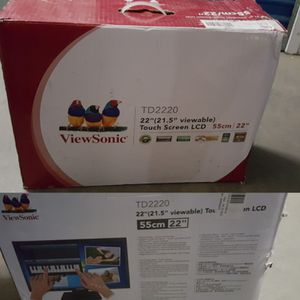 22 inch TOUCH SCREEN MONITOR for Sale in Las Vegas, NV