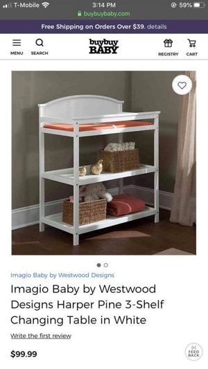 Baby changing table for Sale in North Las Vegas, NV