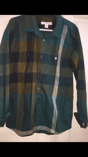 Youth Burberry shirt for Sale in San Jacinto, CA