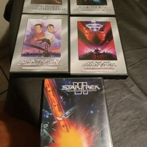 Star Trek Dvd Lot All In Good Condition for Sale in West Sacramento, CA