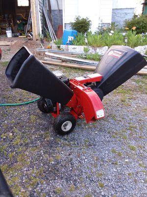 Yard Machine chipper shredder 13 1/2 horsepower for Sale in Kearneysville, WV