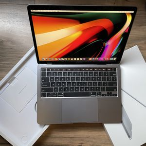 "2020 MacBook Pro 512GB SSD Touch Bar Retina Quad Core i5 13"" + Apple Warranty 2021 for Sale in Los Angeles, CA"