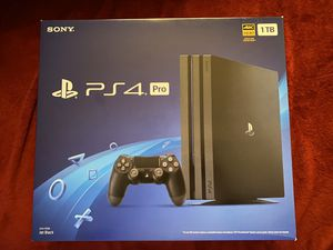PS4 PRO BUNDLE NEW for Sale in Raleigh, NC