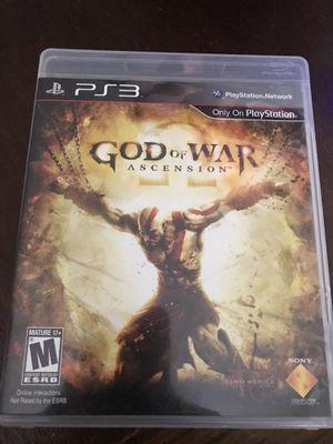 God of war: Acension PS3 for Sale in Laurel, MD