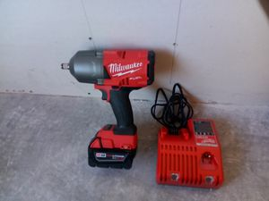 """Milwaukee fuel m18 brushless cordless high torque 1/2"""" impact wrench for Sale in Phoenix, AZ"""