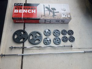 Weight set for Sale in San Antonio, TX