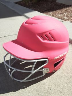 Pink Soft Ball Helmet. for Sale in Rancho Cucamonga,  CA