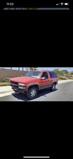 95 Chevy Tahoe 2 door for Sale in Temecula, CA