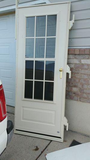 Storm door for Sale in Salt Lake City, UT