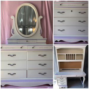 Impressions by Thomasville girls bedroom furniture 3 piece set for Sale in Celebration, FL