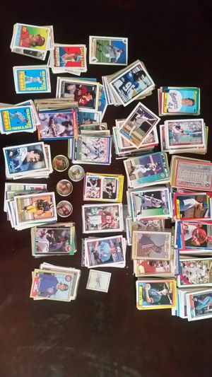 Lot of Baseball and Football Cards for Sale in Columbus, OH