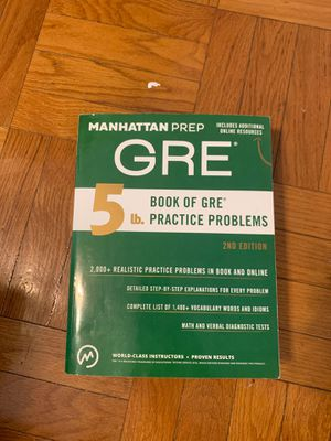 GRE Manhattan Prep 5 lb for Sale in St. Louis, MO