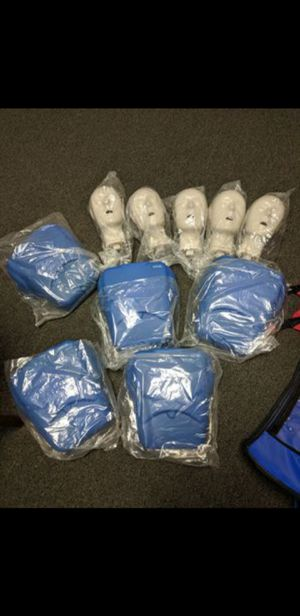 CPR Dummies w/ Rib Cover Compression and Carrying duffle. for Sale in Raleigh, NC