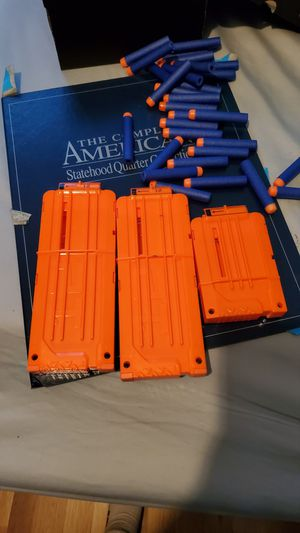 Nerf clips with darts for Sale in Louisa, VA