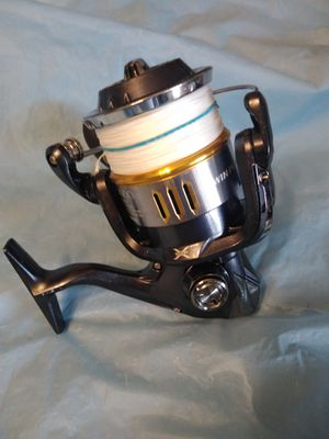 Shimano twin power 14000 reel/braided line for Sale in Pembroke Pines, FL