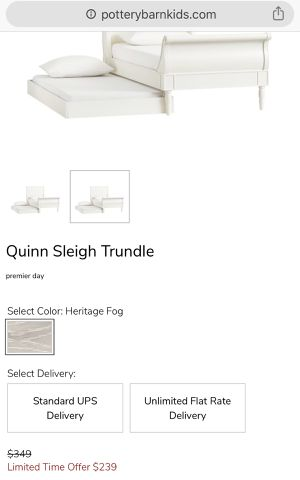 PotteryBarn Twin Trundle Bed for Sale in Woodinville, WA