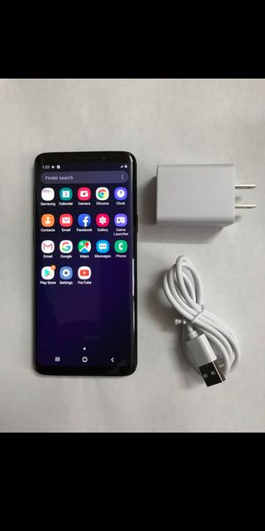 Unlocked Samsung Galaxy S9 Black 64GB for Sale in Culver City, CA