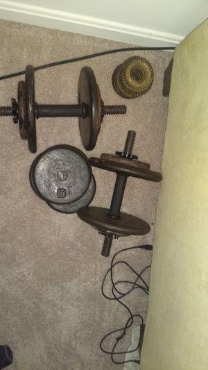 Dumbbell set, adjustable for Sale in Fairfax, VA