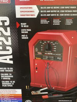 Lincoln Mig Welder Ac225 for Sale in North Bergen,  NJ