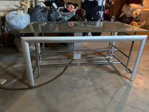 Glass TV stand for Sale in Florissant, MO