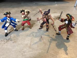 Papo Action Figures - Pirate Lot of 4 for Sale in Maple Valley, WA