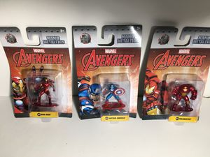 Marvel Avengers Nano Metalfigs for Sale in South Gate, CA
