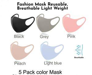 New 5 pack Reusable Lightweight Face Masks for Sale in Lanham, MD