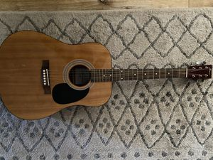 One of a kind handmade spencer acoustic guitar for Sale in Anaheim, CA