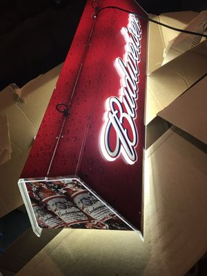 Budweiser pool table light for Sale in Stanton, CA