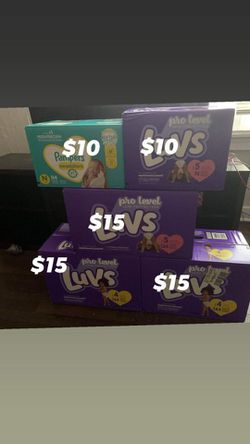 Luvs Pamper  for Sale in Charlotte, NC