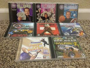Lot of 8 PC CD-ROM Computer Games for Sale in Modesto, CA