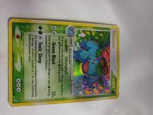 Venusaur crystal guardians stamp played Pokemon card for Sale in Chicago, IL