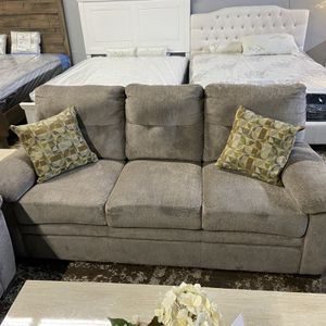 Oatmeal 2pc Sofa Set With Love Seat for Sale in Los Angeles, CA