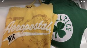 Aeropostale and Celtics hoodie for Sale in Malden, MA