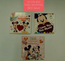 NEW Disney Valentines Books for Sale in Yakima,  WA