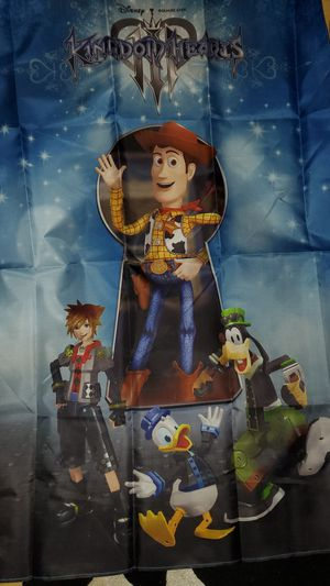 Kingdom hearts 3 clouth poster for Sale in Riverview, FL