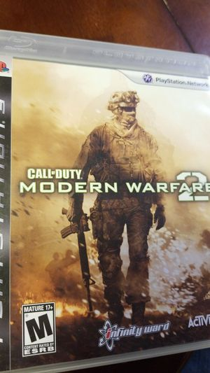Call of duty modern warfare 2 PlayStation 3 for Sale in Winter Haven, FL