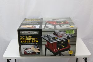 "Chicago Electric (63117) 10"" Benchtop Table Saw ""NEW"" for Sale in Detroit, MI"