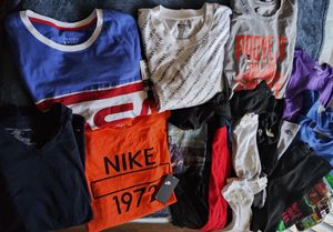 MENS T SHIRT (LONG & SHORT) 13 PAIRS OF ASSORTED SOCKS $45.00 ❗❗❗❗ ALL NEWNO for Sale in North Las Vegas, NV