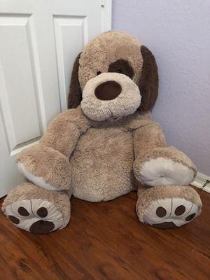 Giant plush dog stuffed animal for Sale in Lake Worth, FL