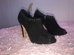 Saks Fifth Avenue suede high heels for Sale in Salt Lake City, UT