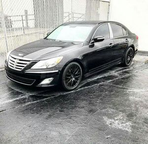 2013 Hyundai Genesis V8 Black on Black w/Chrome Finish $1200 Down for Sale in Atlanta, GA