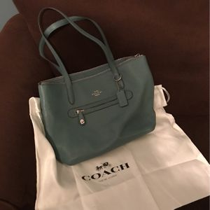 Teal Coach Purse for Sale in Blythewood, SC